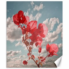 Flowers In The Sky Canvas 8  x 10  (Unframed)