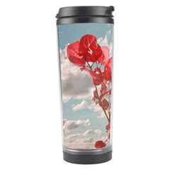 Flowers In The Sky Travel Tumbler
