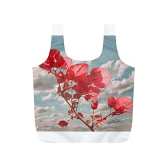 Flowers In The Sky Reusable Bag (s)