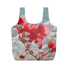 Flowers In The Sky Reusable Bag (m)