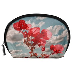 Flowers In The Sky Accessory Pouch (Large)