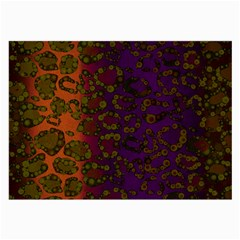 Classy Cheetah Glasses Cloth (large, Two Sided)