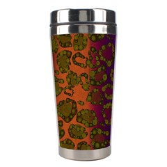 Classy Cheetah Stainless Steel Travel Tumbler