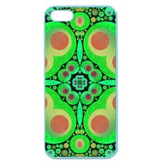 Neon Green  Apple Seamless Iphone 5 Case (color)