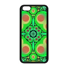 Neon Green  Apple iPhone 5C Seamless Case (Black)