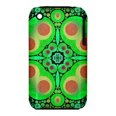 Neon Green  Apple Iphone 3g/3gs Hardshell Case (pc+silicone)
