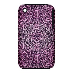 Pink Leopard  Apple iPhone 3G/3GS Hardshell Case (PC+Silicone)