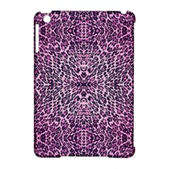 Pink Leopard  Apple Ipad Mini Hardshell Case (compatible With Smart Cover)