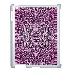 Pink Leopard  Apple Ipad 3/4 Case (white)