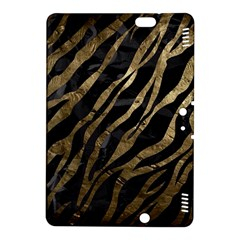 Gold Zebra  Kindle Fire Hdx 8 9  Hardshell Case