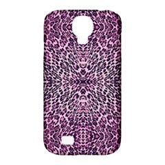 Pink Leopard  Samsung Galaxy S4 Classic Hardshell Case (pc+silicone)
