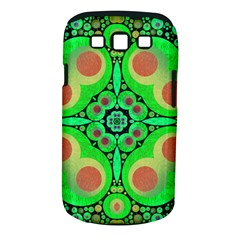 Neon Green  Samsung Galaxy S Iii Classic Hardshell Case (pc+silicone)