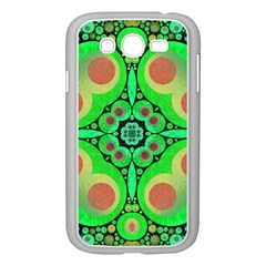 Neon Green  Samsung Galaxy Grand DUOS I9082 Case (White)