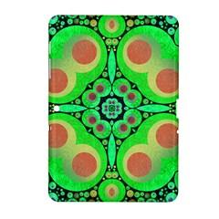 Neon Green  Samsung Galaxy Tab 2 (10.1 ) P5100 Hardshell Case