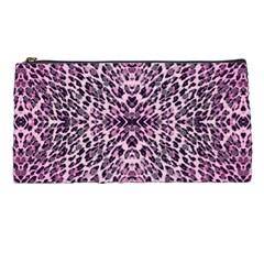 Pink Leopard  Pencil Case