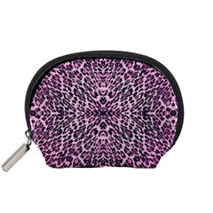 Pink Leopard  Accessory Pouch (small)
