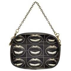 Black Liquor  Chain Purse (two Sided)