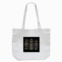 Black Liquor  Tote Bag (White)