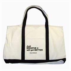 Just Bresthe Two Toned Tote Bag