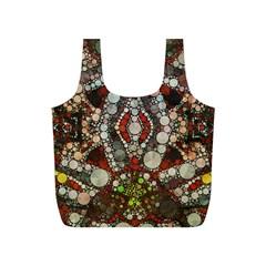 Crazy Abstract  Reusable Bag (s)