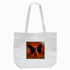 Eyes Wide Open  Tote Bag (White)