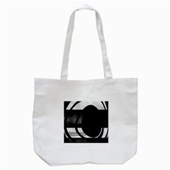 Black Hole  Tote Bag (White)