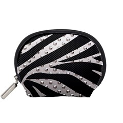 Metal Zebra  Accessory Pouch (small)