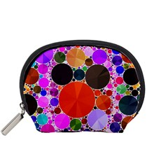 Bling Polka Dot Accessory Pouch (Small)