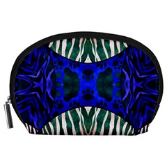 The Funky Zebra  Accessory Pouch (large)