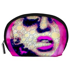 Lady With A Attitude  Accessory Pouch (Large)