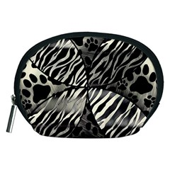 Crazy Animal Print  Accessory Pouch (Medium)