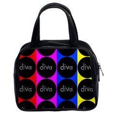 Rainbow Diva  Classic Handbag (two Sides)