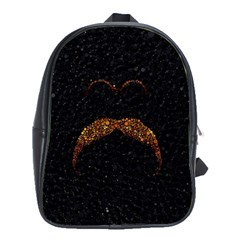 Nerdy Mustache  School Bag (xl)