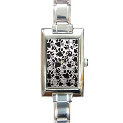 Paws On Me  Rectangular Italian Charm Watch