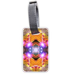 Abstract Flower Luggage Tag (one Side)