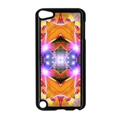 Abstract Flower Apple Ipod Touch 5 Case (black)