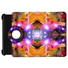 Abstract Flower Kindle Fire HD Flip 360 Case
