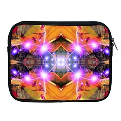 Abstract Flower Apple Ipad Zippered Sleeve