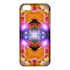 Abstract Flower Apple iPhone 5C Hardshell Case