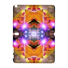 Abstract Flower Samsung Galaxy Note 10.1 (P600) Hardshell Case