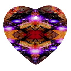Third Eye Heart Ornament (two Sides)