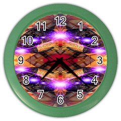Third Eye Wall Clock (color)