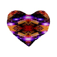 Third Eye 16  Premium Heart Shape Cushion