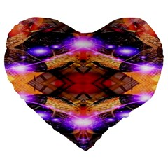 Third Eye 19  Premium Heart Shape Cushion