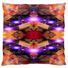 Third Eye Large Flano Cushion Case (Two Sides)