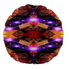 Third Eye Large Flano Round Cushion