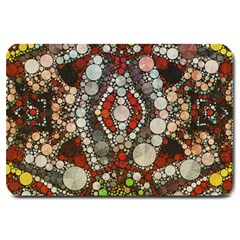 Crazy Abstract  Large Door Mat