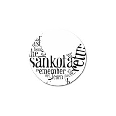 Sankofashirt Golf Ball Marker