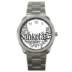 Sankofashirt Sport Metal Watch