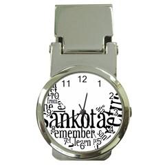 Sankofashirt Money Clip With Watch